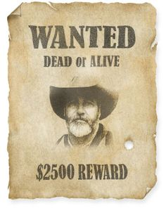 Wanted Dead or Alive poster tutorial (Photoshop)