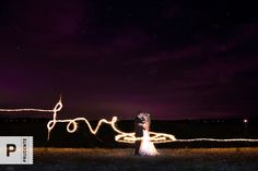 Sparkler wedding photos. Photographed by Prudente Photography - www.prudentephoto.com
