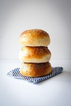 Bun's maison (petits pains pour hamburger)
