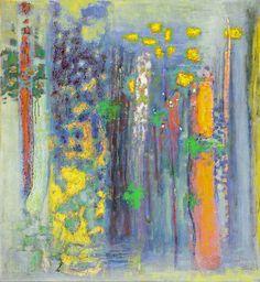 "The Seasons Unfold | oil on canvas | 39 x 36"" | 2013"