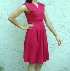 FREE SEWING PATTERNS AND TUTORIALS | On the Cutting Floor - Paula dress sewing pattern and tutorial