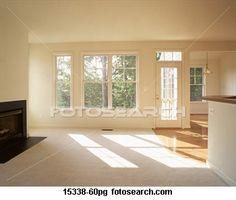 empty room fotosearch.com