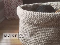 opal and rouge: crochet slouch basket pattern diy