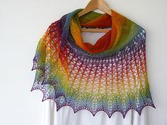 Ravelry: Kyreneia Circular Lace Shawl pattern by Madeline Wardrobe