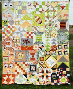 My Favorite Block Quilt Along - Top Pieced! by Persimon Dreams