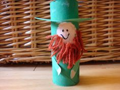 Toilet Paper Roll Leprechauns - TOO CUTE - Easy for Kids To Do!