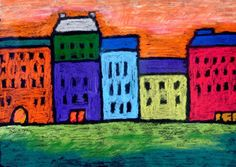 Art Projects for Kids: Kandinsky Cityscape