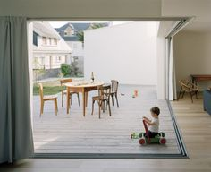 """interior of """"2 Houses & 2 Studios"""" / designed by RAUM (photo by Audrey Cerdan)"""