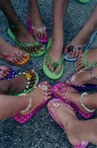 sandal showoff