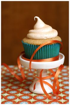 Snickerdoodle cupcakes....yummy!