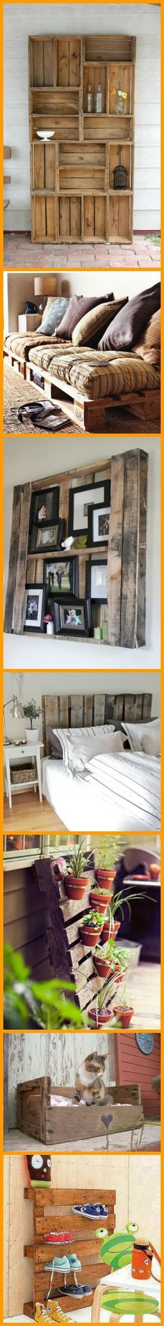 How many uses can you think of for the humble pallet? This album will show you what you've been missing. http://theownerbuildernetwork.co/x4vr