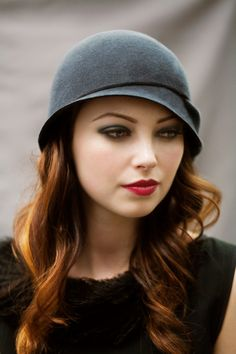 The Twist Cloche Hat by MaggieMowbrayHats on Etsy