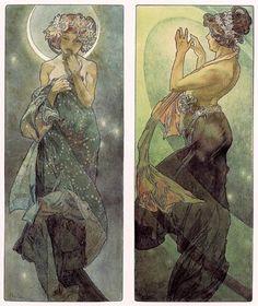 Alfons Mucha-Art Nouveau-posters & apparel