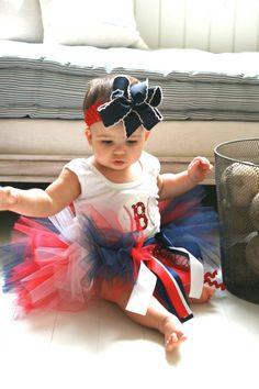 baby girl baseball outfit :)