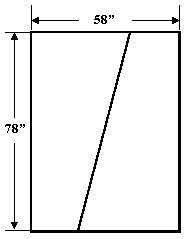 Diagonal Backing Example 1