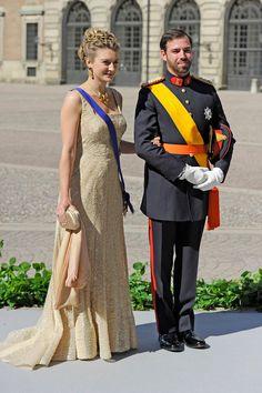 Guillermo de Luxemburgo y Stéphanie de Lannoy.
