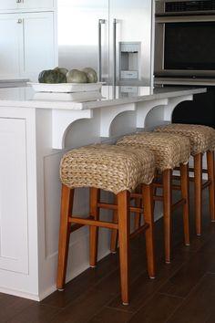 crochet stool tops