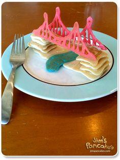 Pancake civil engineering!