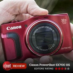 Along with its 30x zoom lens, the Canon PowerShot SX700 HS has fun and useful shooting options; built-in Wi-Fi with NFC; a high-resolution LCD; and excellent shooting performance and daylight photo and video quality.