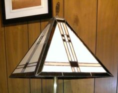 Mision Lamp - by Roy's Stained and Warm Glass. Delphi Artist Gallery