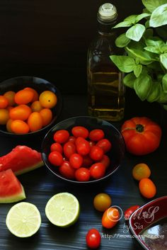 Tomato and Watermelon Salad Recipe | Simple Summer Salad Recipe