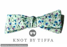 Add some flavor to your graduation outfit with a stylish bow-tie from UD 2008 Alum Tiffany Rogers.