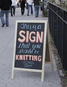 (Or Crocheting)