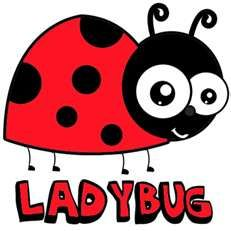 Step 350x350 ladybugs How to Draw Cartoon Ladybugs in Easy Step by ...