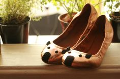 Marc by Marc Jacobs mouse flats, via La Saloperie