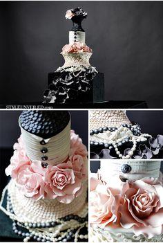 Chanel Themed Wedding