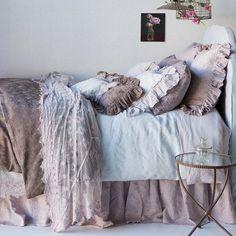 Bella Notte Linens Pure Romance Bedding set, Romantic Bedding Sets