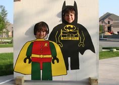 photo boards, lego batman, birthday parties, picture boards, batman parti
