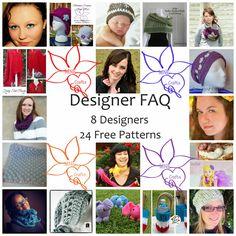 Manda Nicole's Crochet Patterns: Designer FAQs - Hitting the Hot Crochet Topics