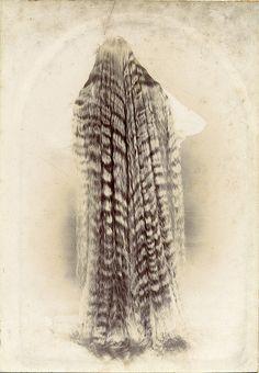 hair long waves