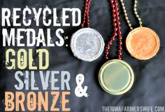 The Iowa Farmer's Wife: Recycled Medals