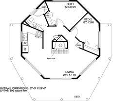 Studio Guest House Plans additionally EXVydCBob21lIHBsYW5zIDEgYmVkcm9vbQ additionally Marlaine Yurts In Hawaii besides Plano also  on yurt house kits