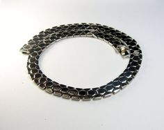 Trifari Tessellated Honeycomb Necklace by EclecticVintager on Etsy