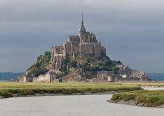 Mont Saint-Michel Castle, France ~ Damn Cool Pictures