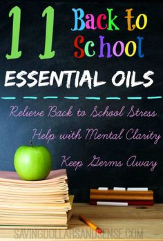Back to School Essential Oils plus how to get a bunch of free stuff!!