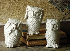 hear no see no speak no owls \ white  $42.00