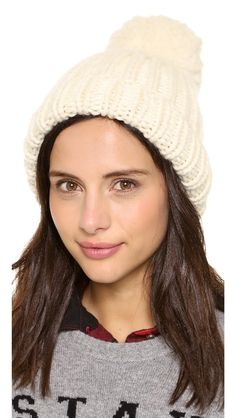 Hats really are the key to staying warm on those freezing New York days, and this one from Eugenia Kim looks so lovely!! hat