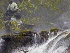 Panda Robert Batman print