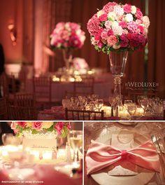 Luxus v ružovej a fuksiovej
