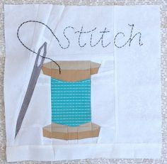 Stitch by Trilliumdesign ~ Caroline, via Flickr ... Foundation Block pattern here >> https://docs.google.com/file/d/0B9WT7VzLrFwMRW9BYThxZng2aXM/edit?pli=1