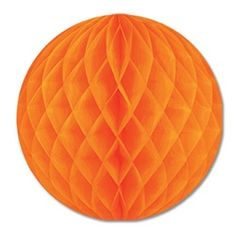 Orange Art-Tissue Ball, 12 in $2.28 ea.