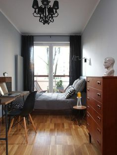 small apartment bedroom