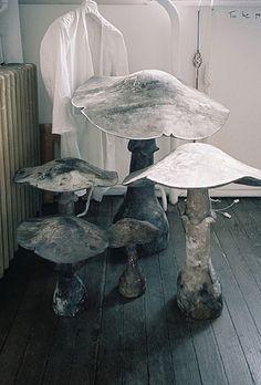 toadstool stools.
