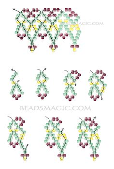bead necklac, beaded necklaces, free pattern, tutorial, necklac teresa