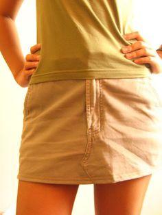 de pantalon a falda