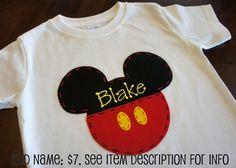 Mickey Mouse Disney Vacation Shirt